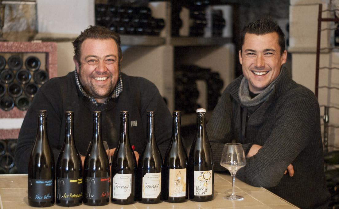 Mathieu Cosme et Fabien Brutou