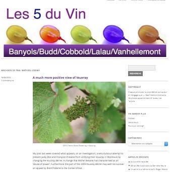 Les 5 du vin